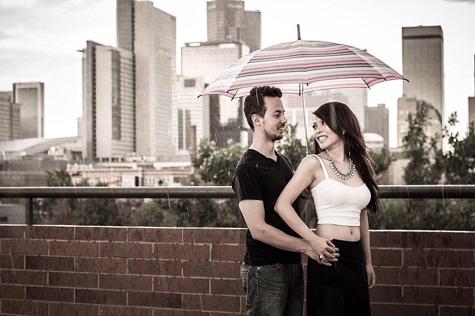 Denver Cherry Creek Engagement Photos Tu and Josh