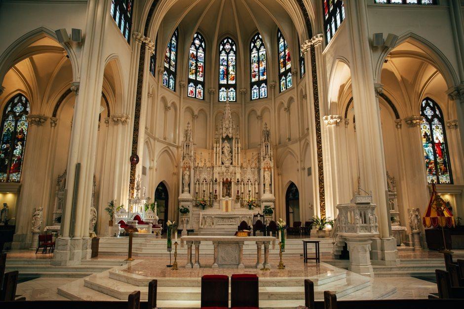 Colorado Denver Cathedral Basilica Wedding Photography_0019