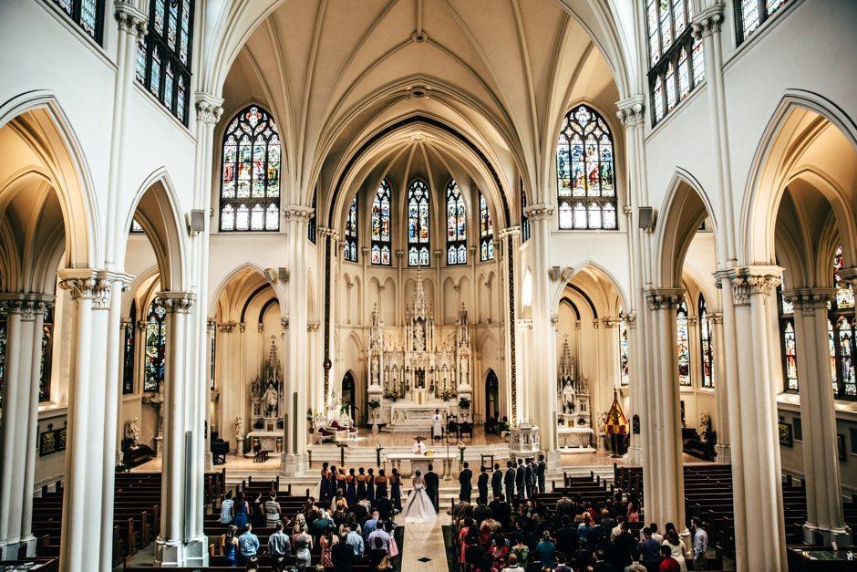 Colorado Denver Cathedral Basilica Wedding Photography_0021