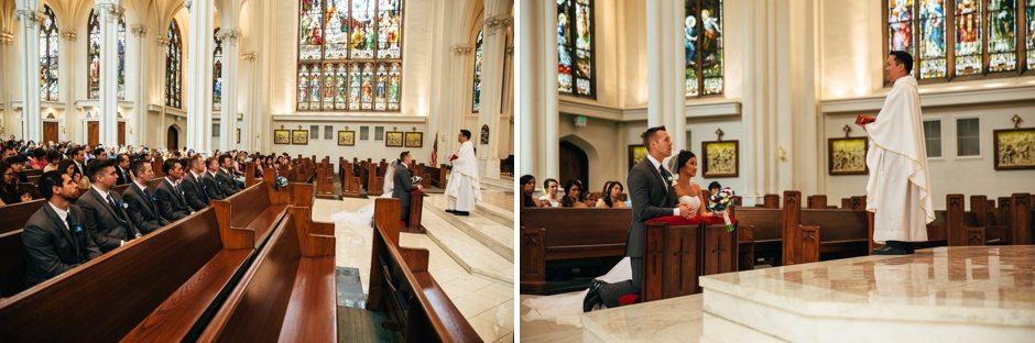 Colorado Denver Cathedral Basilica Wedding Photography_0024