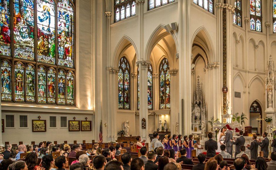 Colorado Denver Cathedral Basilica Wedding Photography_0031