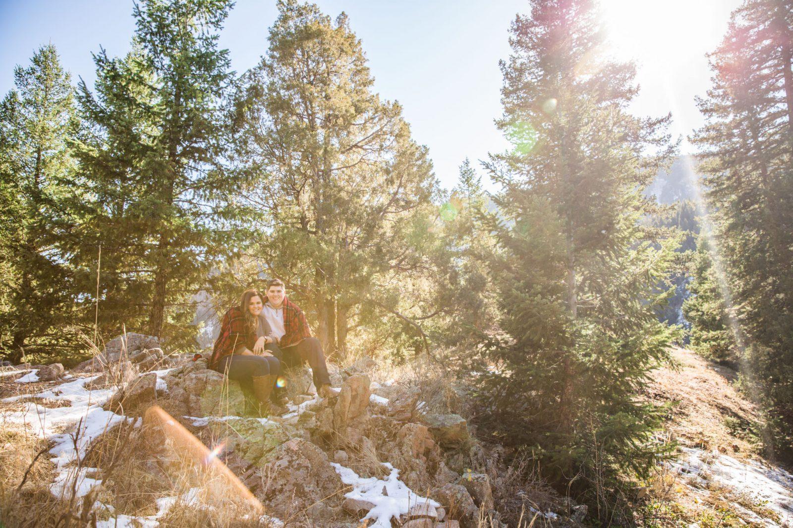 Boulder Engagement Photo Colorado