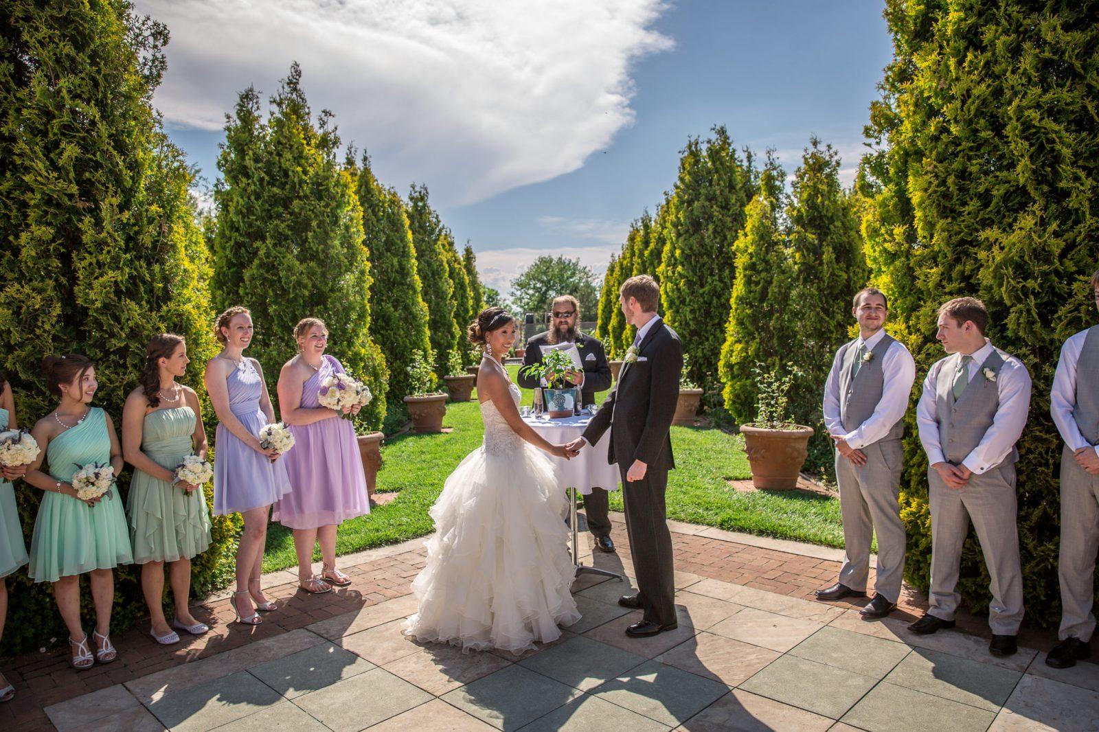 Denver Botanic Gardens Wedding Ceremony