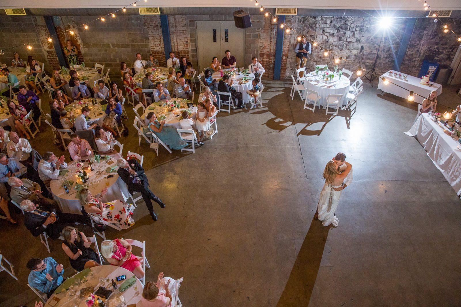 Denver Tivoli Center Wedding Reception
