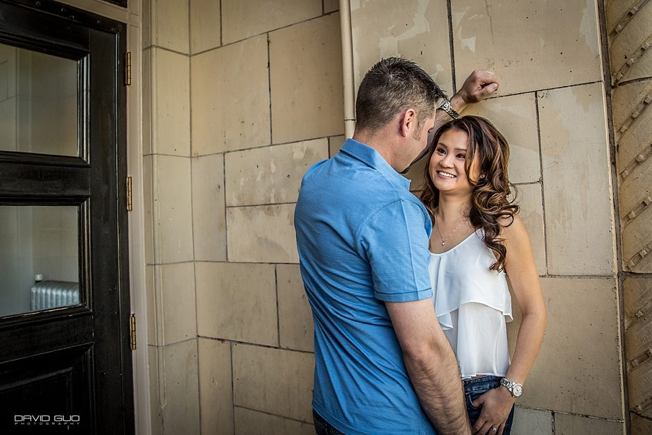Wash Park 16 Street Denver Pavilion Engagement Photos_0002