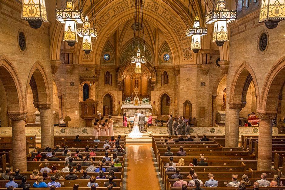Space Gallery Denver Wedding Photographer Holy Ghost Church_0030