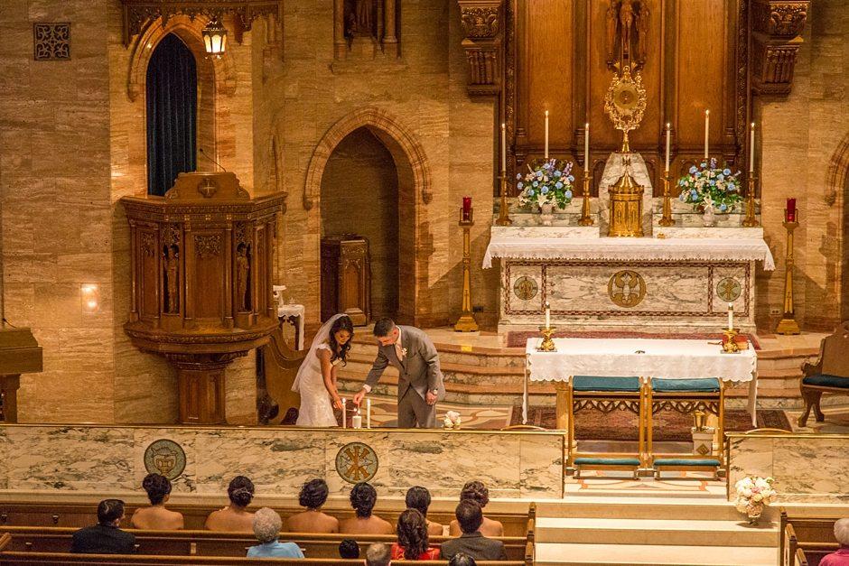 Space Gallery Denver Wedding Photographer Holy Ghost Church_0034