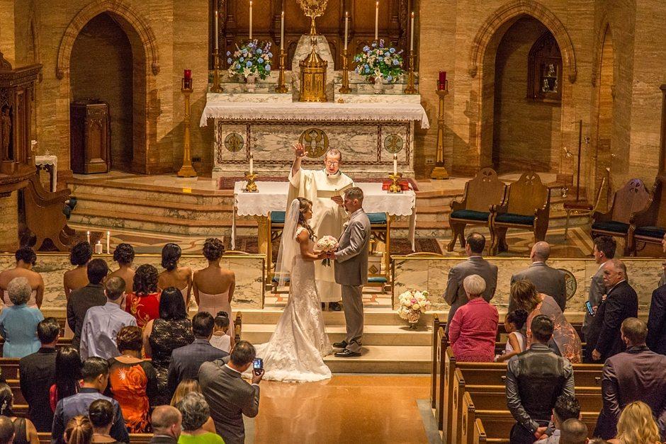 Space Gallery Denver Wedding Photographer Holy Ghost Church_0036
