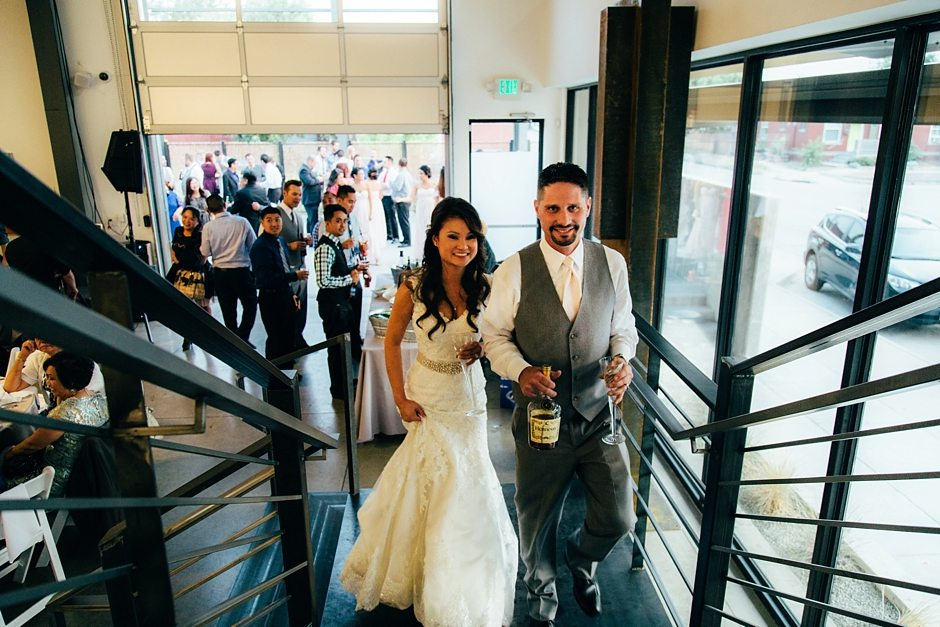 Space Gallery Denver Wedding Photographer Holy Ghost Church_0073