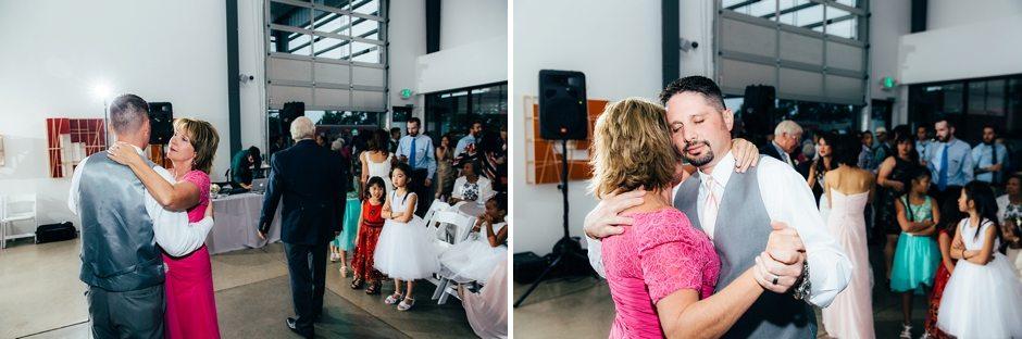 Space Gallery Denver Wedding Photographer Holy Ghost Church_0083