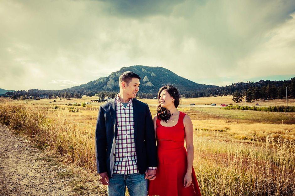 Aspen Colorado Vail Mountain Outdoor Engagement Photography-163
