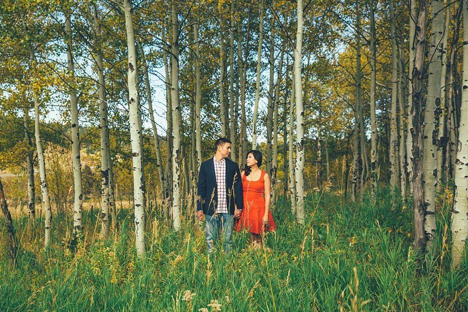 Aspen Colorado Vail Mountain Outdoor Engagement Photography-202