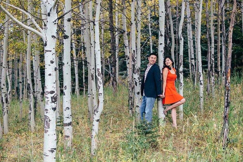 Aspen Colorado Vail Mountain Outdoor Engagement Photography-454