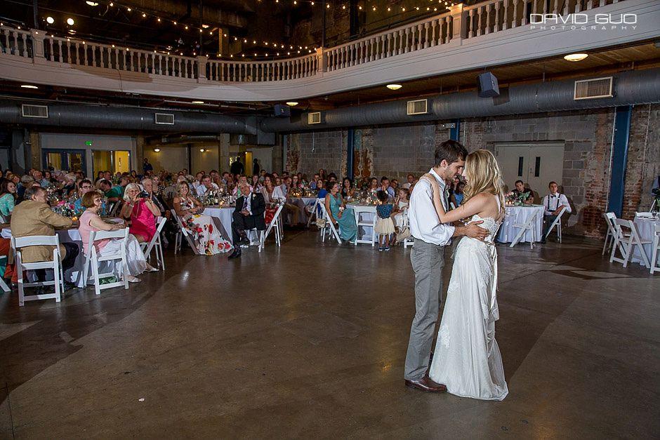 University Of Colorado Denver Tivoli Student Center Wedding Photographer 85