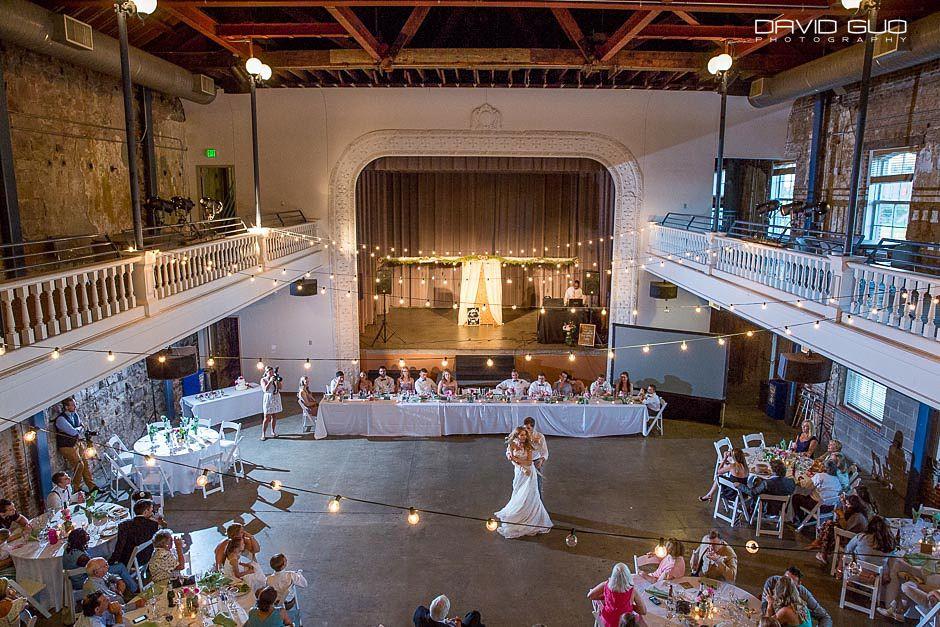 University Of Colorado Denver Tivoli Student Center Wedding Photographer 87