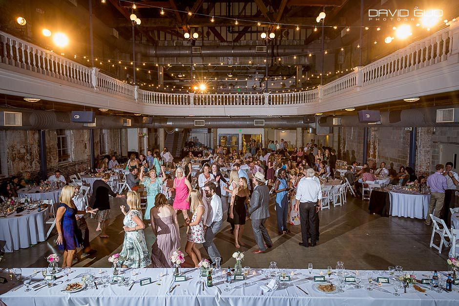 University Of Colorado Denver Tivoli Student Center Wedding Photographer 98
