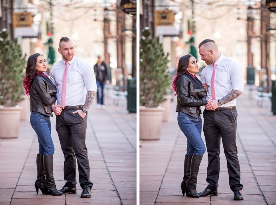 Knotty Tie Larimer Square Engagement Styled Session David Guo Photography-44