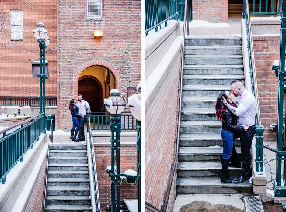 Knotty Tie Larimer Square Engagement Styled Session David Guo Photography-49