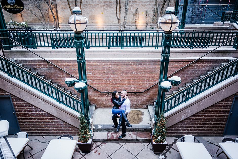 Knotty Tie Larimer Square Engagement Styled Session David Guo Photography-51